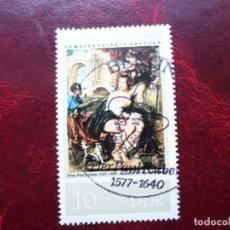 Sellos: *ALEMANIA, DDR, 1977, 400 ANIV.NACIMIENTO DE PEDRO PABLO RUBENS, YVERT 1905. Lote 269206103
