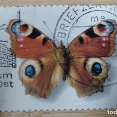 Timbres: ALEMANIA 2005. PEACOCK BUTTERFLY (INACHIS IO). Lote 269265333
