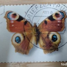 Timbres: ALEMANIA 2005. PEACOCK BUTTERFLY (INACHIS IO). Lote 269269063
