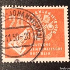 Sellos: ESCASO SELLO REPUBLICA DEMOCRÁTICA ALEMANA (RDA/DDR) DEL AÑO 1950 SCOTT #70, VALOR CATALOGO: 6€. Lote 269419168