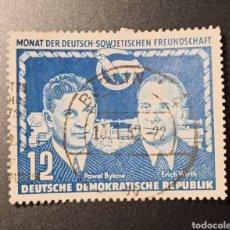 Sellos: ESCASO SELLO REPÚBLICA DEMOCRÁTICA ALEMANA (RDA/DDR) DEL AÑO 1951 SCOTT #93, VALOR CATÁLOGO 4€. Lote 269420398