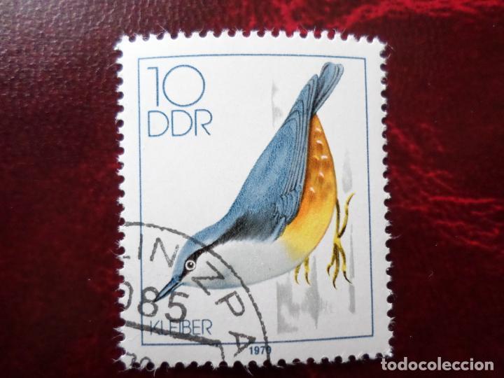 *ALEMANIA, DDR, 1979, PAJAROS CANTORES, YVERT 2057 (Sellos - Extranjero - Europa - Alemania)