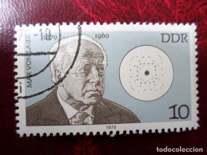 *ALEMANIA, DDR, 1979, MAX VON LATIE, YVERT 2074 (Sellos - Extranjero - Europa - Alemania)