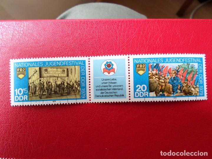 *ALEMANIA, DDR, 1979, FESTIVAL NACIONAL DE LA JUVENTUD, YVERT 2090A (Sellos - Extranjero - Europa - Alemania)
