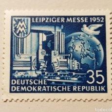 Sellos: SELLO REPÚBLICA DEMOCRÁTICA ALEMANA (RDA/DDR) DEL AÑO 1952 SCOTT #109,VALOR CATÁLOGO 2.25€. Lote 269588053