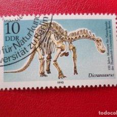 Sellos: *ALEMANIA, DDR, 1990, CENTENARIO MUSEO DE HISTORIA NATURAL UNIVERSIDAD DE HUMBOLT, YVERT 2924. Lote 270243078
