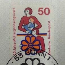 Sellos: ALEMANIA 1975. MI:DE 831,. Lote 270917623