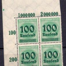 Sellos: ALEMANIA IMPERIO, 1923 , MICHEL 290 , MNH. Lote 289890913
