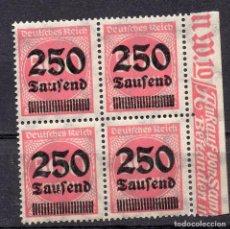 Sellos: ALEMANIA IMPERIO, 1923 , MICHEL 295 , MNH. Lote 289891108
