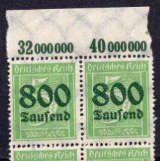 Sellos: ALEMANIA IMPERIO, 1923 , MICHEL 301A , MNH. Lote 289891588