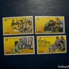 Sellos: /19.07/-ALEMANIA ORIENTAL-1981-SERIE COMPLETA EN NUEVO(**MNH). Lote 276380453