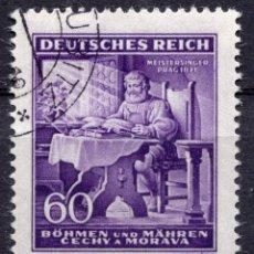 Sellos: BOHEMIA Y MORAVIA, 1943 STAMP ,, MICHEL 128. Lote 277142828