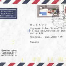 Sellos: CORREO AEREO: ALEMANIA 1987. Lote 277151858