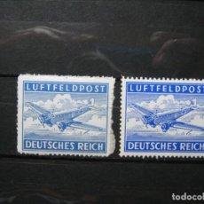 Selos: ALEMANIA IMPERIO DEUTSCHES REICH CORREO MILITAR FELDPOST YVERT 1 & 1A MNH** LUJO!!!. Lote 277169353