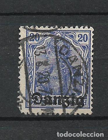 ALEMANIA DANZIG 1920 MICHEL 4 USADO - 7/39 (Sellos - Extranjero - Europa - Alemania)