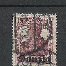 Sellos: ALEMANIA DANZIG 1920 MICHEL 3 USADO - 7/39. Lote 277207823