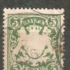 Selos: BAVIERA. 1888. YT 62. Lote 277586353