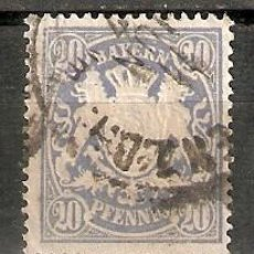 Selos: BAVIERA. 1888. YT 64. Lote 277586513