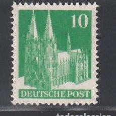 Sellos: ALEMANIA, BIZONA, 1948-51 YVERT Nº 48A /**/, SIN FIJASELLOS. Lote 277653273