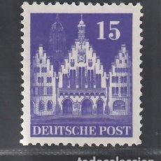 Sellos: ALEMANIA, BIZONA, 1948-51 YVERT Nº 50A /**/, SIN FIJASELLOS. Lote 277653413