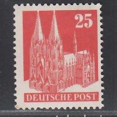 Sellos: ALEMANIA, BIZONA, 1948-51 YVERT Nº 55A /*/,. Lote 277656738