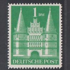 Sellos: ALEMANIA, BIZONA, 1948-51 YVERT Nº 65A /*/,. Lote 277657368