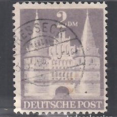 Sellos: ALEMANIA, BIZONA, 1948 YVERT Nº 66, TIPO I,. Lote 277659763