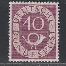 Sellos: ALEMANIA FEDERAL, 1951-1952 YVERT Nº 19 /*/. Lote 277751928