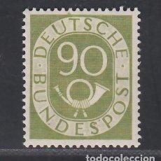 Sellos: ALEMANIA FEDERAL, 1951-1952 YVERT Nº 24 /*/. Lote 277752063