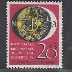 Sellos: ALEMANIA FEDERAL, 1951 YVERT Nº 28 /**/, SIN FIJASELLOS. Lote 277758893
