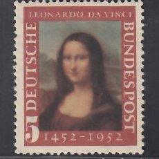 Sellos: ALEMANIA FEDERAL, 1952 YVERT Nº 34 /*/. Lote 277821228