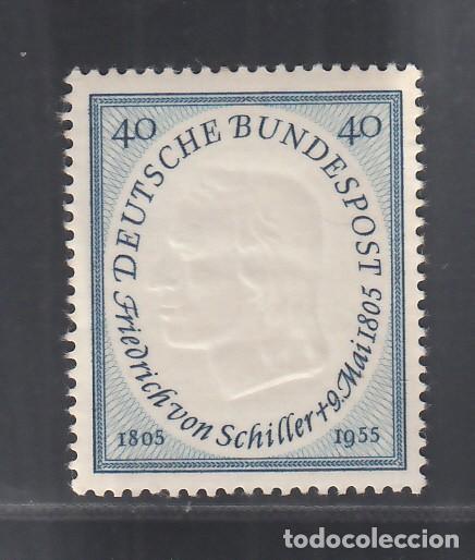 ALEMANIA FEDERAL, 1955 YVERT Nº 86 /**/, SIN FIJASELLOS (Sellos - Extranjero - Europa - Alemania)