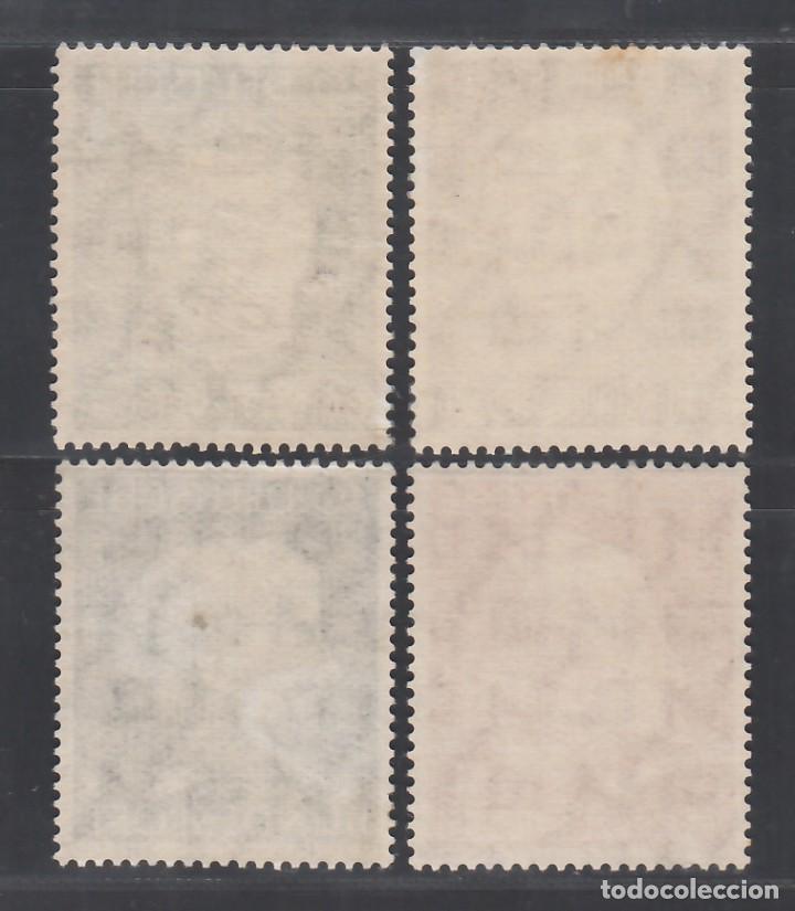 Sellos: ALEMANIA FEDERAL, 1954 YVERT Nº 76 / 79 /**/, SIN FIJASELLOS - Foto 2 - 277845823