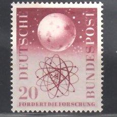 Sellos: ALEMANIA FEDERAL, 1955 YVERT Nº 88 /*/,. Lote 277847223
