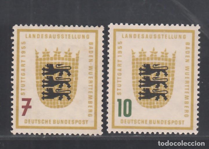 ALEMANIA FEDERAL, 1955 YVERT Nº 89 / 90 /*/, (Sellos - Extranjero - Europa - Alemania)