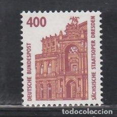 Sellos: ALEMANIA FEDERAL, 1991 YVERT Nº 1394 /**/, ÓPERA SEMPER, DRESDE. Lote 278284363
