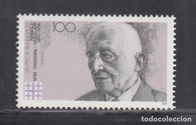 ALEMANIA FEDERAL, 1991 YVERT Nº 1388 /**/, REINOLD VON THADDEN, TEÓLOGO (Sellos - Extranjero - Europa - Alemania)