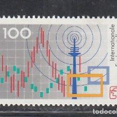Sellos: ALEMANIA FEDERAL, 1991 YVERT Nº 1381 /**/, EXPOSICIÓN INTERNACIONAL DE RADIO, BERLÍN (1991). Lote 278286073