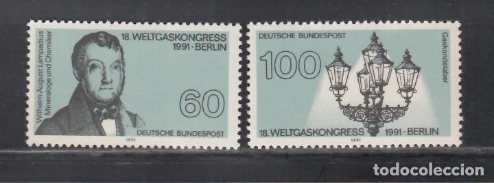 ALEMANIA FEDERAL, 1991 YVERT Nº 1365 / 1366 /**/ (Sellos - Extranjero - Europa - Alemania)