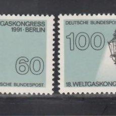 Sellos: ALEMANIA FEDERAL, 1991 YVERT Nº 1365 / 1366 /**/. Lote 278286768