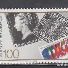 Sellos: ALEMANIA FEDERAL, 1990 YVERT Nº 1311 /**/. Lote 278514863