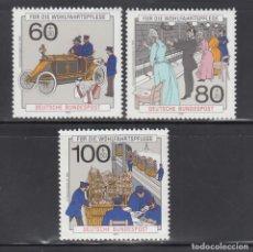 Sellos: ALEMANIA FEDERAL, 1990 YVERT Nº 1306 / 1308 /**/. Lote 278515468