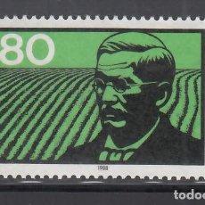 Sellos: ALEMANIA FEDERAL, 1988 YVERT Nº 1190 /**/. Lote 280691078
