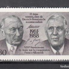 Sellos: ALEMANIA FEDERAL, 1988 YVERT Nº 1183 /**/. Lote 280691448