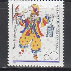 Sellos: ALEMANIA FEDERAL, 1988 YVERT Nº 1181 /**/. Lote 280691828