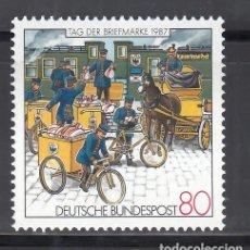 Sellos: ALEMANIA FEDERAL, 1987 YVERT Nº 1170 /**/. Lote 280692343