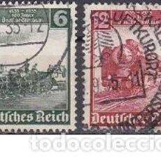 Selos: LOTE DE SELLOS ANTIGUOS DE ALEMANIA III REICH - TRENES - ESVASTICA - PARTIDO NAZI - WWII -. Lote 283471043