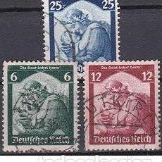 Sellos: LOTE DE SELLOS ANTIGUOS DE ALEMANIA III REICH - INFANCIA - PARTIDO NAZI - WWII. Lote 283480378