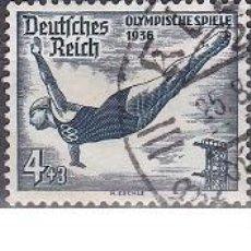 Sellos: LOTE DE SELLOS ANTIGUOS DE ALEMANIA III REICH - OLIMPIADAS 1936 - DEPORTE - AHORRA PORTES COMPRA MAS. Lote 283670738