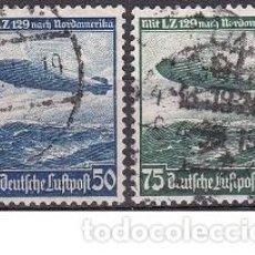 Sellos: LOTE DE SELLOS ANTIGUOS DE ALEMANIA - REICH - DIRIGIBLES - AHORRA PORTES COMPRA MAS. Lote 283671148